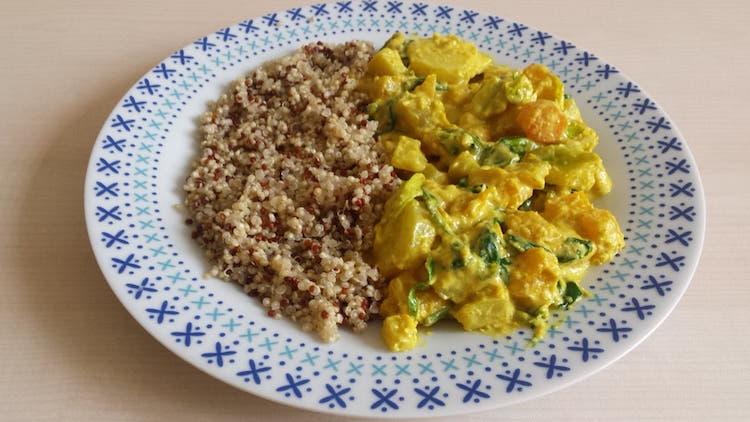 Curry Vegan Délicieux