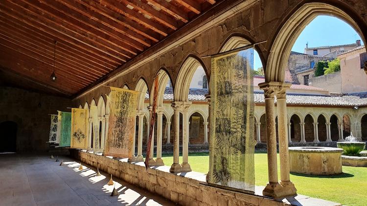 art cloitre abbaye saint hilaire limouxin