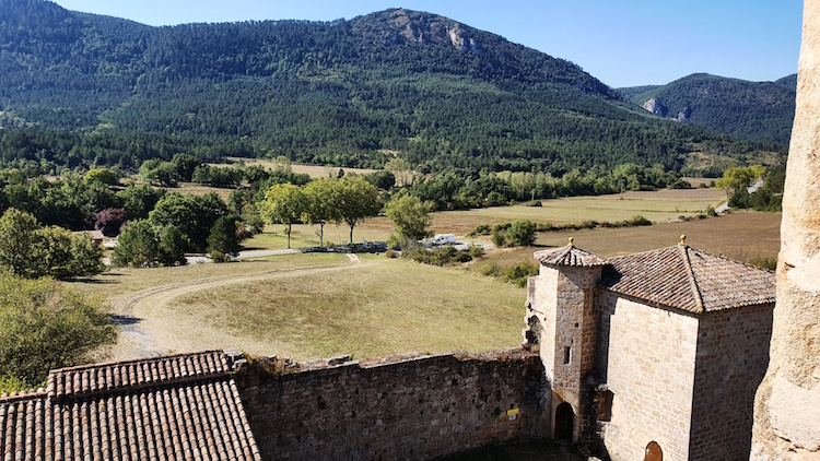 vue donjon chateau Arques